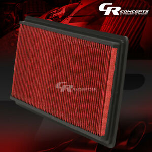 Red Washable High Flow Air Filter For 98 02 Chevy pontiac Camaro firebird 2dr