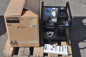 Dayton 13t386 Dredge Pump Honda Engine Driven Pump 4 8hp 2 Inlet Outlet New