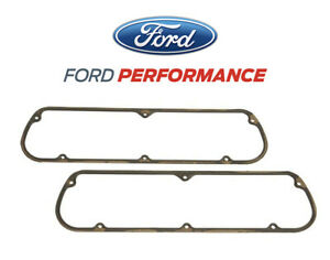 1965 1995 Mustang 5 0 Ford Performance Valve Rocker Arm Cover Gaskets Pair