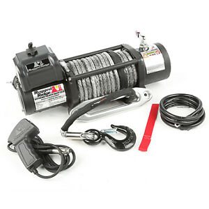 Rugged Ridge 15100 21 Synthetic Rope 12500 Lbs Spartacus Performance Winch