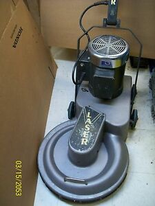 Pioneer Eclipse Laser X Xtra High Speed Burnisher Floor Buffer Lxe20