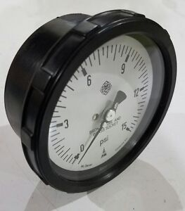 Mc Daniel Controls Mc 15 Psi Pressure Gauge 1 4 Npt Thread Inlet
