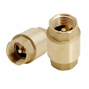 3 4 Brass Ips Threaded Swing Check Valve Lead Free