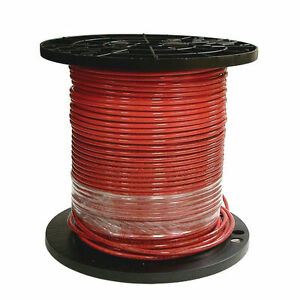 Southwire 6red strx500 Stranded Single Building Wire 6 Awg 500 Ft 30 Mil Thhn