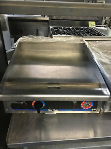 24 Star Max Thermostatic Electric Griddle Flat Grill