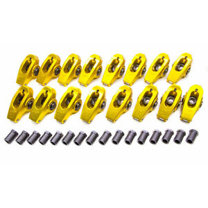Crane Bblv 13750 16 Bbc Gold Race 1 7 Roller Rocker Arms 7 16in Stud