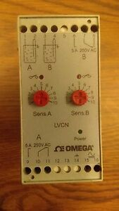 Omega Time Delay Relay Switch Lvcn 204