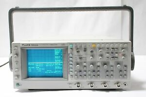 Fluke Pm3392a 4ch Digital Analog Storage Oscilloscope 200 Mhz 200ms s