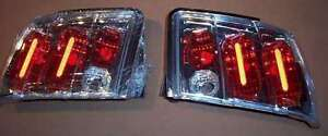 New Ipcw Chrome Euro Tail Lights Cwt ce521c For 1999 2004 Ford Mustang