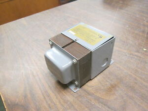 Edwards Transformer 88 100 100va Pri 120v Sec 12 24v 1ph Used