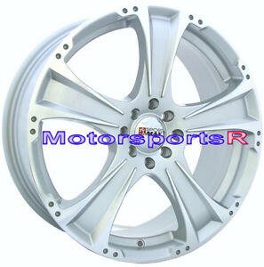 Xxr 008 18 X 7 5 48 Silver Machince Face Wheels Rims 4x100 Toyota Yaris S Ce Le