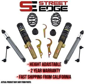 Street Edge Coilover Kit 99 06 Bmw E46 323 325 328 330 2wd Coilovers