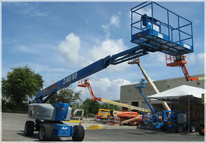 2008 Genie Articulating Z 80 60 Boom Lift 2650 Hours Well Maintained Usa