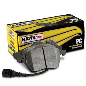Hawk Performance Hb726z 582 Stable Friction Output Disc Brake Pads