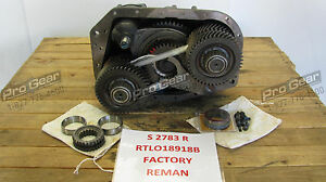 Factory Remanufactured Auxiliary For Rtlo18918b 18 Speed Eaton Transmission
