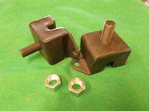 Jeep Willys Mb Gpw Cj2a M38 M38a1 Engine Mounts Motor Mounts Pair