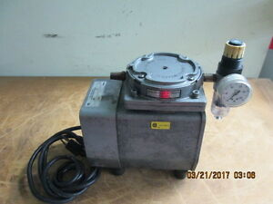 Dayton Electric 2z866 Diaphragm Compressor Vacuum Pump Gast_looks Nice_deal_