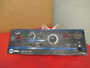 Miller Gold Star Control Panel 452 Used