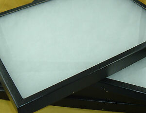 Four Riker Mount Display Box Frame Collector Box Collections Antique Shows 12x16