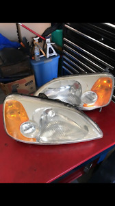 Head Lights Left And Right For 2001 Honda Civic Coupe
