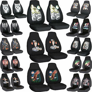 Cc Front Set Cotton Car Seat Covers To Fit 94 04 Mustang Cobra Wolf Choose