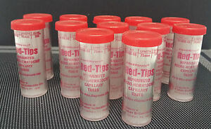 Fisherbrand Red Tips Micro Blood Collecting Tubes 02 668 66 75 Mm