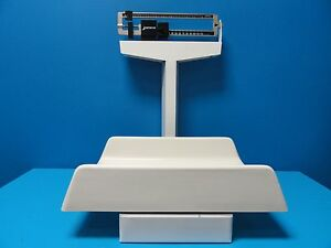 Detecto 3p704 Pediatric Mechanical Sliding Balance Scale Capacity 130 Lb 13079