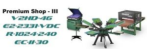 Vastex V 2000 Screen Printing Press 4 Station 6 Color Prem Shop 3