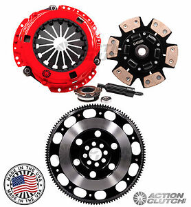 Actionclutch Stage 3 Race Pro Lite Flywheel Acura Rsx Type S Civic Si K20 6spd