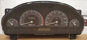 2003 Jaguar S Type R Supercharged Instrument Cluster Oem Miles Unknown No Keys