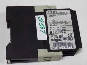Schiele Ess Mecotron Voltage 110 130v Monitoring Relay