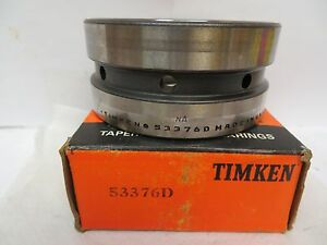 New Timken Tapered Roller Bearing 53376d