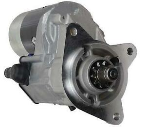 New Gear Reduction Starter Motor Ford Backhoe 650 655a 655c 750 7500 755 755a