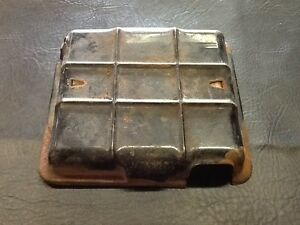 Vw Aircooled Beetle 6 Volt Battery Cover 7 75 X 7