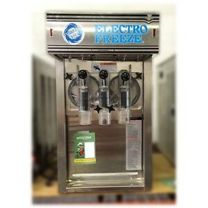 Electro Freeze Dh7 Slushie smoothie Machine