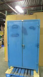 Strong Hold 48 x24 x72 Stronghold Heavy Duty Steel Storage Cabinet 4 Shelf 30