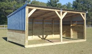 Portable Horse Barn Livestock Shelter Goat Shed Sheep Shed Horse Run in