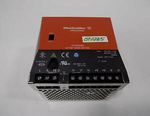 Weidmuller Connect Power 8708680000 Power Supply Cp Snt 250w 24v 10a