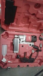 Milwaukee Permanent Magnetic Drill 1 5 8in
