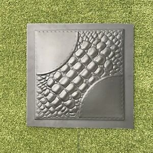 alligator 3d Decorative Wall Panels 1 Pcs Abs Plastic Mold For Plaster