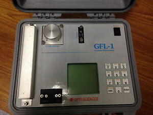 Opti sciences Gfl 1 Portable Fluorometer W New Battery Tested