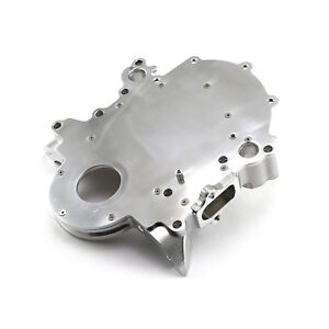 Ford Sb 289 302 351 Windsor 5 0l 1968 99 2pc Billet Aluminum Timing Chain Cover