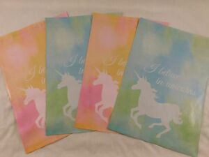 1000 10x13 Designer Pink And Blue Unicorn Mailers Poly Shipping Envelopes Bags