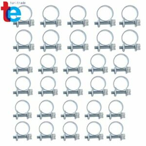 New Fuel Injection Hose Clamp Auto Fuel Clamps 30pcs 1 4 5 16 3 8 Us