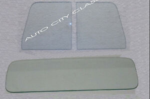 57 60 Ford Pickup Truck Clear Door Glasses And Standard Rear Back Glass