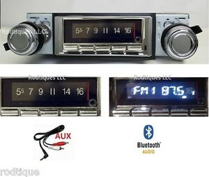 1980 1986 Ford Truck Bluetooth Stereo Radio Multi Color Display 740