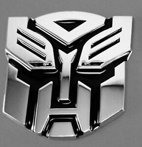 Hot Transformers Autobot 3d Logo Emblem Badge Graphics Decal Car Sticker Decal