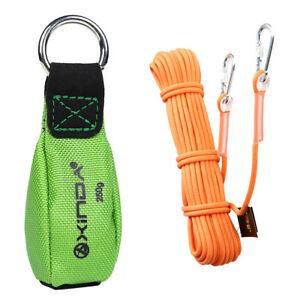 65 6 0 37 Climbing Auxiliary Rope 8 8oz Tree Rigging Green Throw Weight