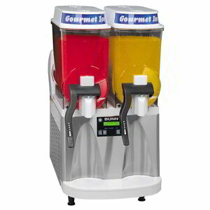 Bunn Ultra 2 Ss wht Tested Frozen Margarita Slush Machine Contact 4 Shipping