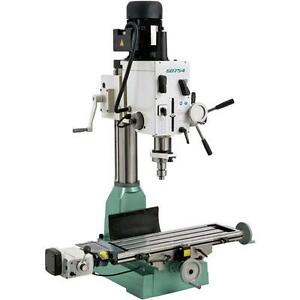 G0754 Grizzly Heavy duty Mill drill With Power Feed